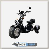 Электроскутер Citycoco WS-PRO Trike 2000w 20Ah (черный)