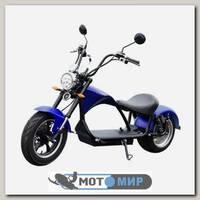 Электроскутер Citycoco Harley Chopper 2000W (синий)
