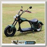 Электроскутер Citycoco Harley Chopper 2000W (зеленый)