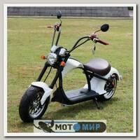 Электроскутер Citycoco Harley Chopper 2000W (белый)