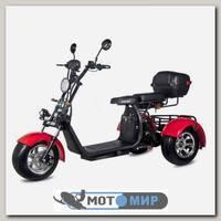 Электроскутер Citycoco WS-PRO trike 2000w 20ah (красный)