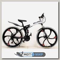 Складной велосипед на литых дисках BMW X6 (6 лучей)