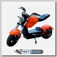 Электроскутер ElectroTown Citycoco Bike (оранжевый)