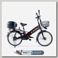 Электровелосипед e-ALFA GL с кофром