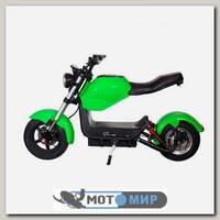 Электроскутер ElectroTown Citycoco Bike (зеленый)