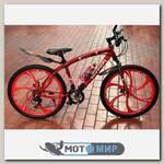 Велосипед на литых дисках Ferrari (6 лучей)