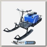 Мотобуксировщик ЛИДЕР-3-3Т-15АП с реверсом и лыжным модулем