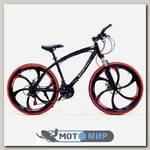Велосипед на литых дисках Mersedes-Benz (6 лучей)