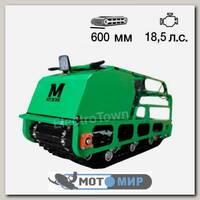 Мотобуксировщик Мужик 600 K 18,5 Lux