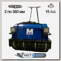 Мотобуксировщик Мужик K2 - 15М